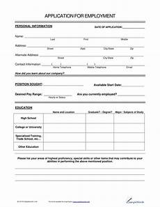 Form Of Job 14 Employment Application Form Examples Pdf Examples
