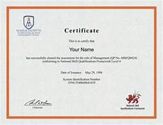 Fake Course Certificate Certificate In Management Certificates Templates Free