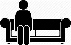 Sitting Sofa Png Image by Person Seat Sitting Sofa Icon