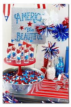 4th Of July Lights At Target Patriotic Party Tablescape Sugar Bee Crafts