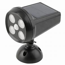 Solar Motion Sensor Light With Alarm 4 Led Solar Sensitive Motion Sensor Light Outdoor Security