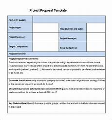 One Page Proposal Template Free 27 Project Proposal Templates Pdf Doc Free Amp Premium