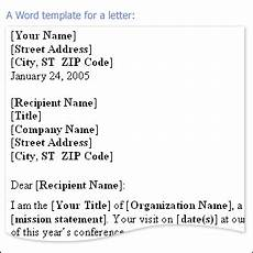 Business Letter Template Microsoft Word Add A Salutation To A Message Outlook