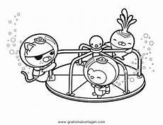 Oktonauten Malvorlagen Quest Oktonauten 8 Gratis Malvorlage In Comic Trickfilmfiguren