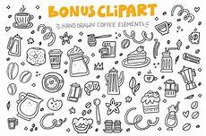 coffee cliart lettering by favete