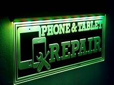 Cell Phone Store Signs H015 Cell Phone Repair Led Sign Tablet Neon Open Light