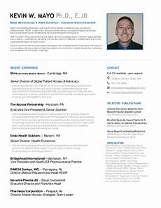 One Page Resumes Kevin Mayo One Page Resume