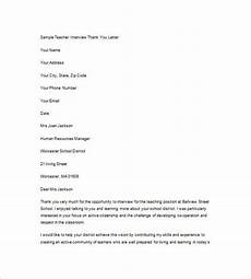 Example Thank You Note After Interview 9 Interview Thank You Note Free Word Excel Pdf Format