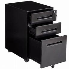 gymax rolling a4 file cabinet sliding drawer metal office
