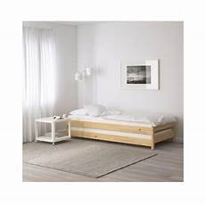 ikea ut 197 ker stackable bed pine 2 pack guest beds day