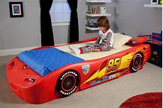 disney pixar cars lightning mcqueen bed
