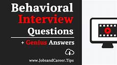 Behavioral Job Interview 15 Most Common Behavioral Job Interview Questions And