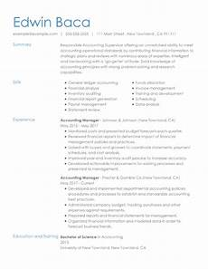 Accounting Manager Resume Resume Samples For Every Job Title Amp Industry Resume Now