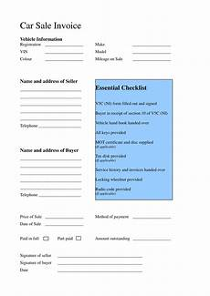 Car Sale Receipt Template Free 15 Business Forms For Car Dealers In Pdf