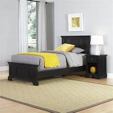 home styles bedford bed and stand