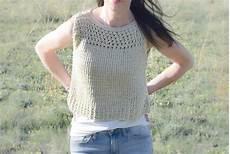 knit summer summer vacation top allfreeknitting