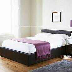 michigan ottoman gas lift storage bedstead faux leather