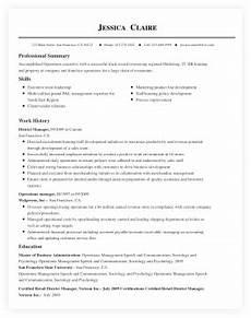 Resume Buildre Free Online Resume Builder By Livecareer