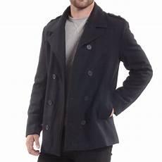 pea coats for alpine swiss jake mens pea coat wool blend breasted