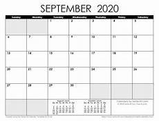 September 2020 Calendar Printable With Holidays 2020 Calendar Templates And Images