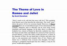 Romeo And Juliet Analysis Essay Romeo And Juliet Essay Conclusion About Love Romeo And