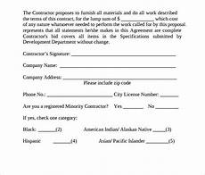 Standard Contract Template Free 10 Contract Proposal Templates In Pdf Ms Word