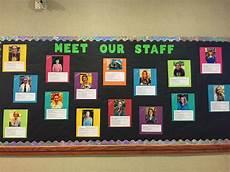 Employee Bulletin Boards Tallmadge Meet Our Staff Bulletin Board Staff