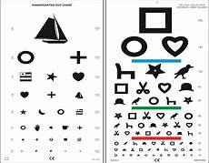 Printable Allen Picture Eye Chart 7 Best Images Of Snellen Eye Chart Printable Printable