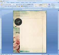 Microsoft Word Layout Templates How To Repeat A Logo And Address On Each Page Of Your