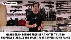 Ar 15 Barrel Twist Chart Ar 15 Barrel Twist Rates What You Need To Know When
