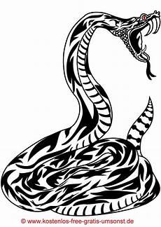 kostenloses schlangen tattoobild tattoovorlage schwarz
