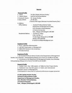 Example Of Profile For Resume Free 11 Personal Profile Samples In Pdf Ms Word