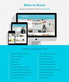 Moodle Mobile Themes Material Boost Responsive Moodle Theme For Online