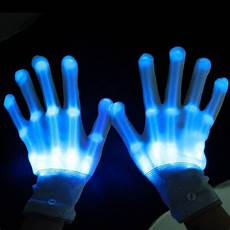 Light Up Gloves For Kids Free Shipping Led Lighting Gloves Cosplay 1pairs