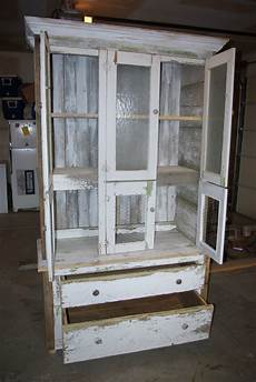 reclaimed rustics rustic china cabinet armoire