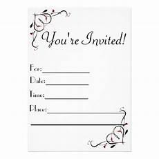 You Re Invited Templates You Re Invited Invitations Zazzle