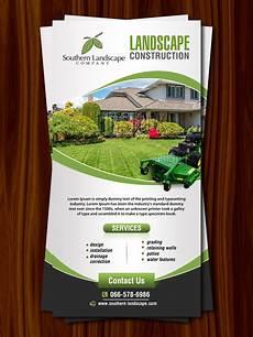 Landscaping Flyer Design 19 Professional Colorful Landscaping Flyer Designs For A