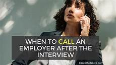 Should I Call After An Interview March 2019 Page 3 Hope Jobs