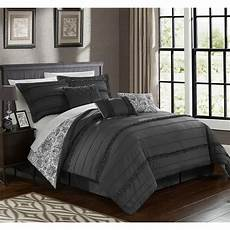 chic home 11 reversible bed in a bag set