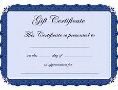Gift Certificate Prints Printable Babysitting Coupon Template Clipart Best