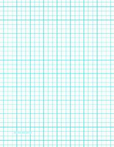 Graph Paper 8x11 Printable Graph Paper With Three Lines Per Inch And Heavy