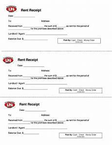 Rent Receipt Form Rent Receipt Template Fill Online Printable Fillable