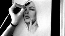Drawing With Pencil Speed Drawing Pencil Portrait Youtube