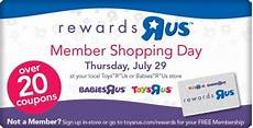 Reward Chart Toys R Us Toys Quot R Quot Us Rewards Members Only Shopping Day Free 15