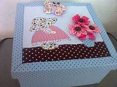 caixa conesa patchwork embutido no elo7 let it be
