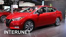 nissan versa sedan 2020 2020 nissan versa sr new sedan exterior and interior