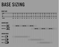 Switchback Bindings Size Chart Size Chart Snowboard Brands The Mountain Garage