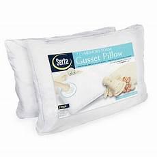 serta 174 memory foam gusset bed pillows 2 pack big lots