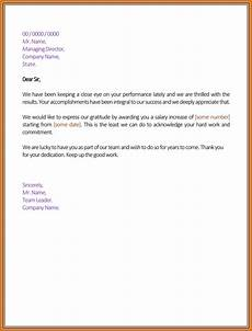 Salary Increase Letter Example 8 Salary Increase Justification Simple Salary Slip