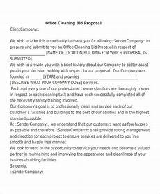 Cleaning Business Proposal Sample Free 26 Business Proposal Letter Examples In Pdf Doc